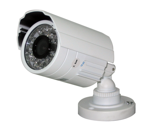 Indoor/Outdoor IR Bullet Camera, 26 Led, Up to 60FT