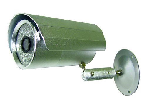 Indoor/Outdoor IR Bullet Camera, 600TVL, 36 LED