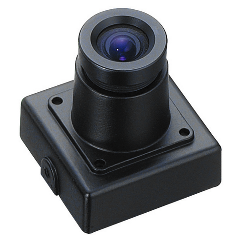 Color CCD Camera w/Mini Metal Case, Board lens
