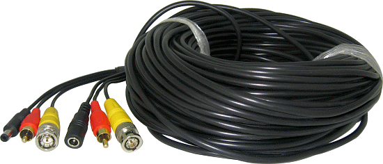 150FT Video/Audio/Power Premade Cable