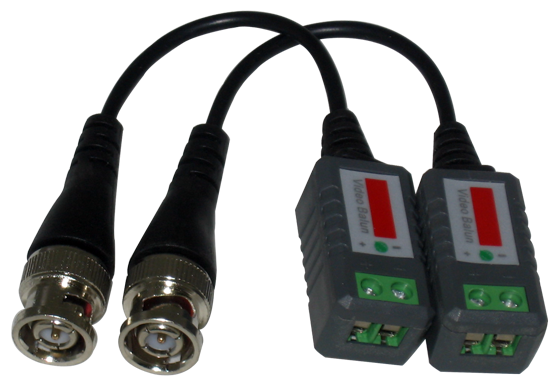 Passive Video Balun with Wire, Transmit upto 1000FT