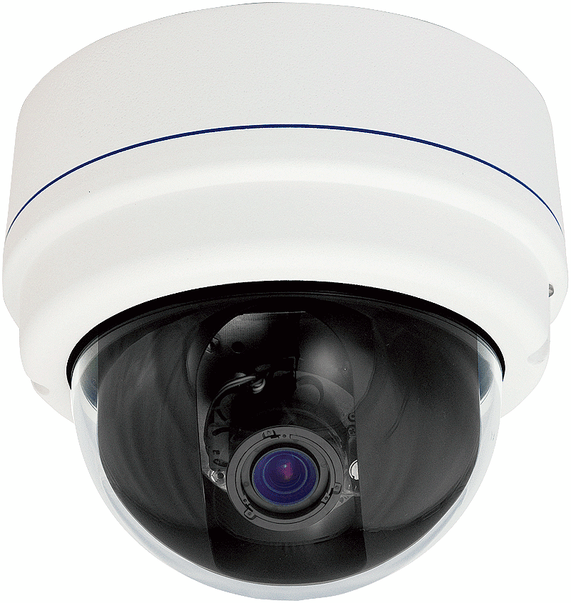 Indoor Dome IP Camera, HD H.264 2MP CMOS PoE