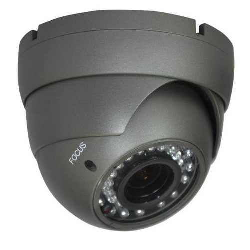Outdoor Vandal Resistant Eyeball IR Dome 1200TVL,1.3MP, 2.8-12mm