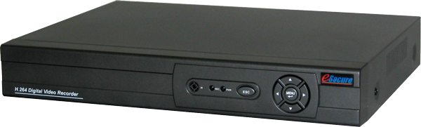 8CH H.264 Standalone DVR, Smartphone Support